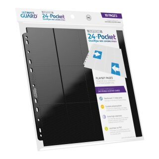 24-Pocket QuadRow Pages Side-Loading Black (10)