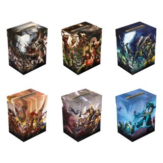 Warhammer Age of Sigmar: Champions Basic Deck Case 80+ Standard Size -