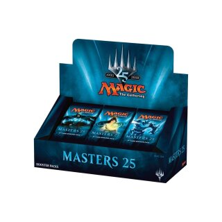 Masters 25 Booster Display - Englisch