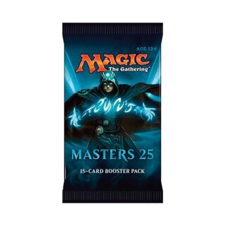 Masters 25 Booster Packung - Englisch