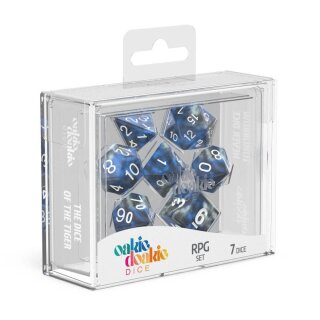 Oakie Doakie Dice RPG Set Gemidice (7) - Liquid Steel