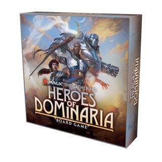 Magic: The Gathering: Heroes of Dominaria Board Game Standard Edition - Englisch