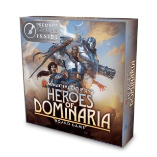 Magic: The Gathering: Heroes of Dominaria Board Game Premium Edition - Englisch
