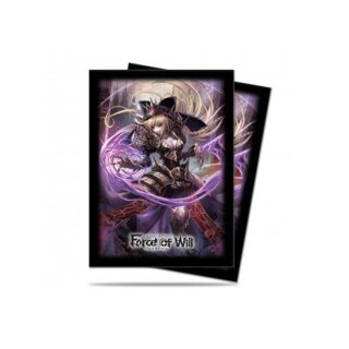 UP - Deck Protector Sleeves - Force of Will - A2: Dark Faria (65 Sleeves)
