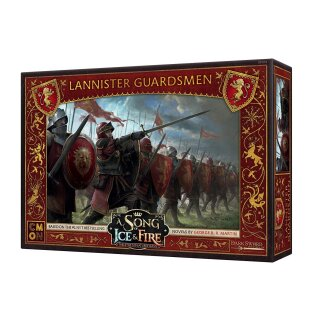 A Song of Ice & Fire - Lannister Guardsmen - Englisch