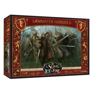 A Song of Ice & Fire - Lannister Heroes 2 - Englisch