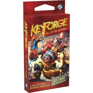 Keyforge: Call of the Archons Deck - Englisch - 1 Deck