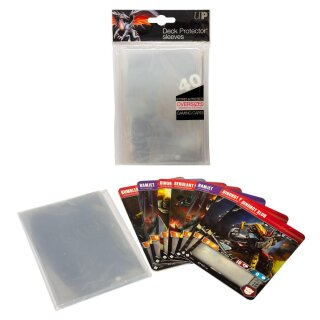 Ultra Pro - Oversized Clear Top Loading Deck Protector Sleeves (40 Sleeves)