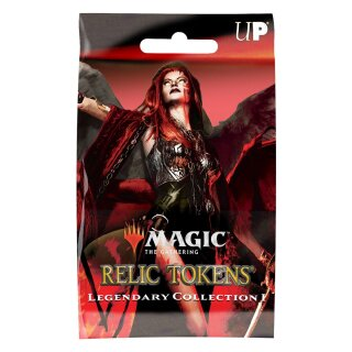 Relic Tokens Legendary Collection for MtG Booster Packung