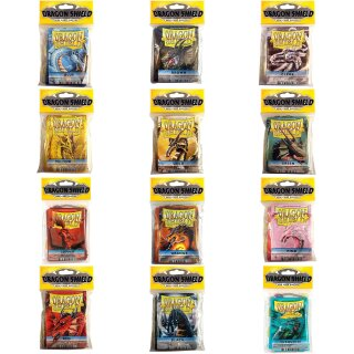 50 Dragon Shield Mini Card Hüllen
