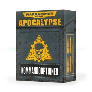Apocalypse: Kommandooptionen (Deutsch)