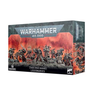 Chaos Space Marines - Trupp der Chaos Space Marines