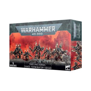 Chaos Space Marines - Terminators