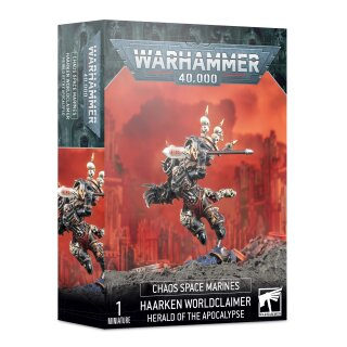 Chaos Space Marines - Haarken Worldclaimer