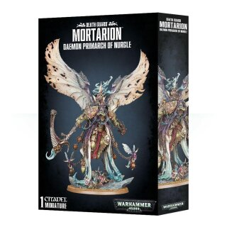 Death Guard - Mortarion: Daemon Primarch of Nurgle