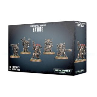 Chaos Space Marines - Havocs