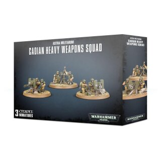 Astra Militarum - Cadian Heavy Weapon Squad
