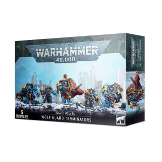 Space Wolves - Wolf Guard Terminators