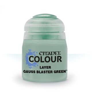 Layer: Gauss Blaster Green