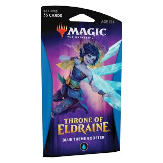 Throne of Eldraine Theme Booster Pack - English - Blue