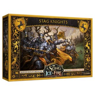 A Song of Ice & Fire - Baratheon Stag Knights - Englisch