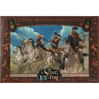 A Song of Ice & Fire - Bloody Mummer Zorse Riders - Englisch