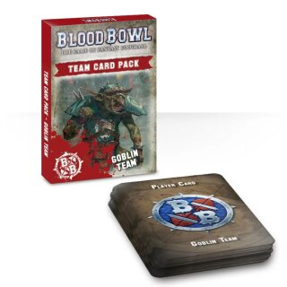 Blood Bowl Goblin Team Card Pack (Eng)