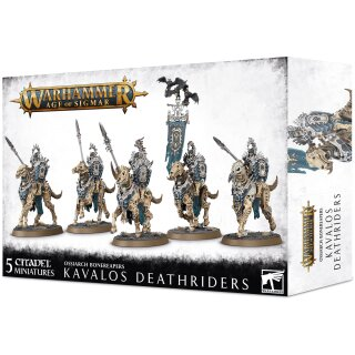 Ossiarch Bonereapers Kavalos Deathriders