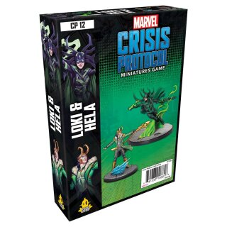 Marvel Crisis Protocol: Loki and Hela Character - Englisch