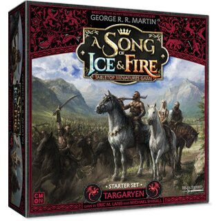 A Song of Ice & Fire - Targaryen Starter Set - Englisch