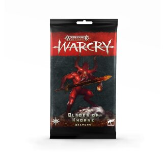 Warcry: Daemons Of Khorne Cards