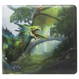 Dragon Shield Card Codex Zipster Binder - XL Olive Lavom