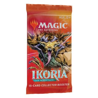 Ikoria: Lair of Behemoths Collector Booster Packung - Englisch