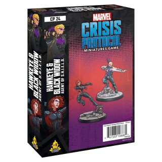 Marvel Crisis Protocol: Hawkeye and Black Widow - Englisch