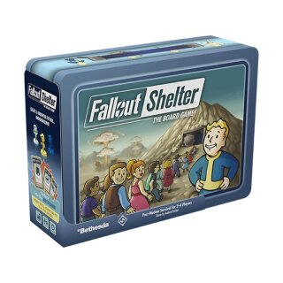 Fallout Shelter: The Board Game - Englisch