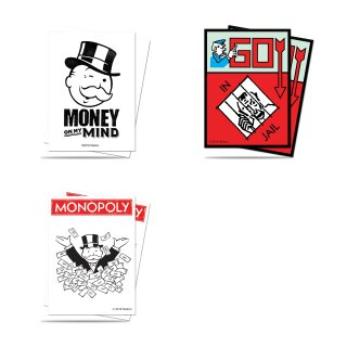 Ultra Pro - Standard Deck Protector - Monopoly (100 Sleeves) -