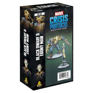Marvel Crisis Protocol: Black Dwarf and Ebony Maw - Englisch
