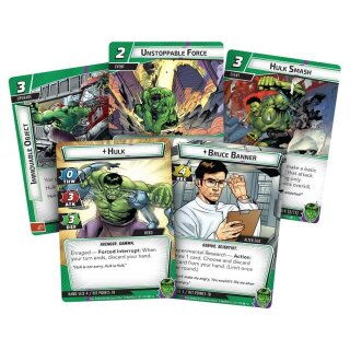 FFG - Marvel Champions: The Card Game - Hulk Hero Pack - Englisch