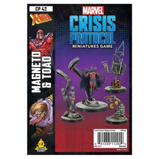 Marvel Crisis Protocol: Magneto and Toad - Englisch