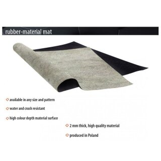 Playmats.eu - Paved Plaza rubber Play Mat - 48x48 inches