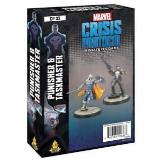 Marvel Crisis Protocol: Punisher and Taskmaster - Englisch