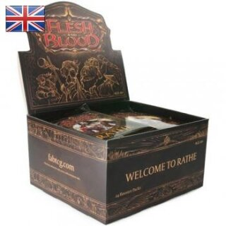 Flesh & Blood TCG - Welcome to Rathe Unlimited Booster Display - Englisch