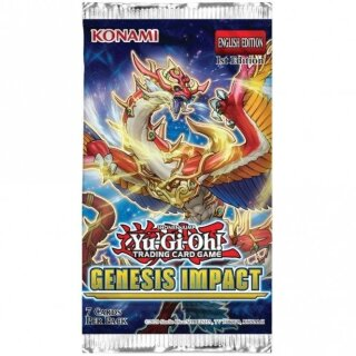 YuGiOh - Genesis Impact Booster Pack - Englisch - 1st Edition