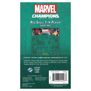 FFG - Marvel Champions: The Rise of Red Skull 4PlayerMat