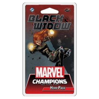 FFG - Marvel Champions: The Card Game - Black Widow Hero Pack - Englisch