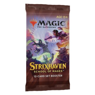 Strixhaven: School of Mages Set Booster Pack - English