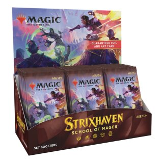 Strixhaven: School of Mages Set Booster Display - Englisch