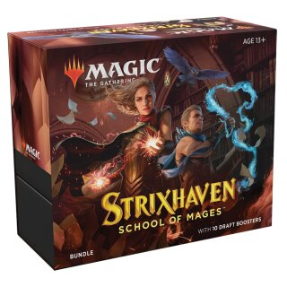 Strixhaven: School of Mages Fat Pack Bundle - English