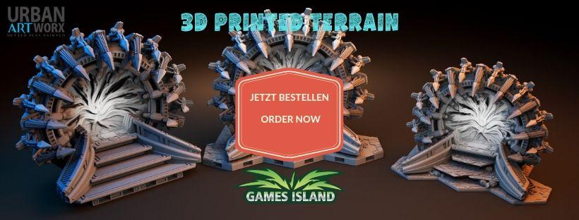 3D Printed Terrain