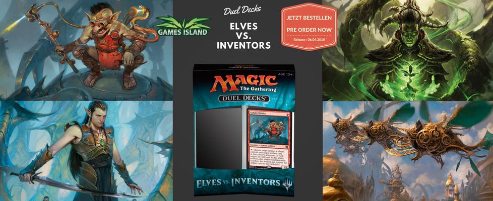 Elves vs. Inventors Duel Deck - Englisch